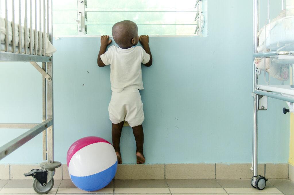 Zorgen van jongen in ons kinderziekenhuis